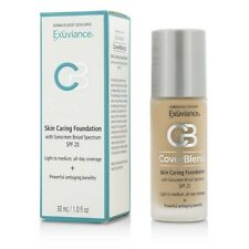 Exuviance CoverBlend Skin Caring Foundation SPF20 - # Warm Beige 30ml Womens