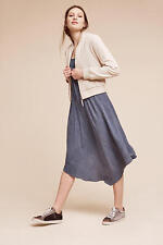 NEW ANTHROPOLOGIE Asymmetrical Crepe Dress XSP XS Petite by Saturday/Sunday