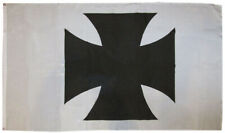3x5 German Iron Maltese Cross White Background 3'x5' Polyester Flag Banner