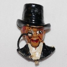 Charlie McCarthy articulated brooch/pin Coro Company 1937 Book piece Cute! Rare!