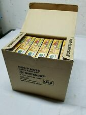 Box of 6 Original Mario Kart 64 Nintendo N64 Game Factory Sealed New NIB 1997