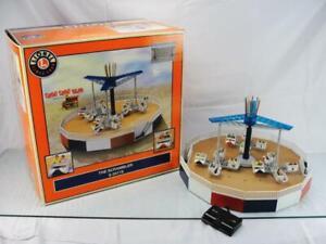 LIONEL ELECTRIC SCRAMBLER AMUSEMENT PARK RIDE TRAIN ACCESSORY BOXED 6-24179