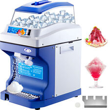 More details for commercial ice shaver ice shaving machine with hopper electric snow cone maker