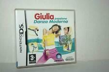 GIULIA PASSIONE DANZA MODERNA USATO NINTENDO DS EDIZIONE ITALIANA AC6 44999