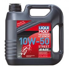 Engine oil motorbike 4t 10w-50 fully synthetic 205 liter - Liqui moly 1569