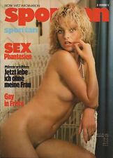SPONTAN Magazin November 1979 Gondel-Verlag / beautiful women naked nude nackt