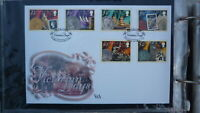 ISLE OF MAN STAMP ISSUE FDC, 2001 VICTORIAN DAYS SET OF 6 STAMPS