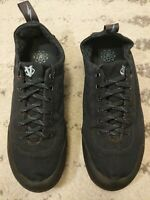 Evolv Cruzer trax climbing shoes lace up canvas mens 8 womens 9 black EUC! B8