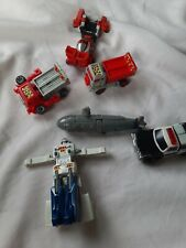 Bandai Gobots Robot Vehicle Lot Of 6 Vintage transformers robots