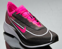 Nike Zoom Fly 3 Women's Black Pink Blast White Running Jogging Shoes Sneakers