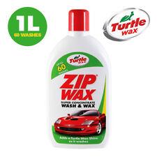 Turtle Wax Zip Wax Car Shampoo Wash and Wax Extra Shine - 1L - 100% EXTRA