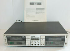 VINTAGE PIONEER CT-1040W DUAL CASSETTE PLAYER TAPE DECK RECORDER + MANUAL