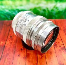KMZ ! 1959 !!! early ! JUPITER 9 2x85mm lens for Leica M39  EX+++