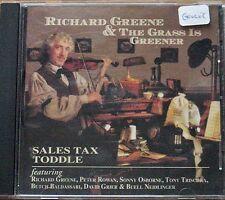 Sales Tax Toddle ~ Richard Greene ~ Fiddle ~ Country Rock ~ CD ~ Used VG