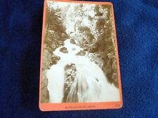 OLD ALBUMEN/CABINET CARD: KITZLOCK-KLAMM~ca 1870~WÜRTHLE & SPINNHIRN