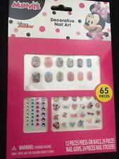 Disney Minnie Mouse Nail Art Gift Set 65 Pieces