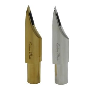 Eastern music DG fat boy metal tenor saxophone mouthpiece gold or silver plated