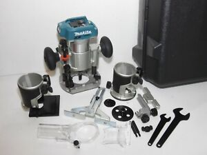 Makita LXT DRT50 18V CORDLESS Brushless ROUTER fully working Bare great cond