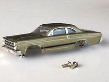 New Thunderjet 1966 G Fairlane Tjet HO Slot Car Body Fits Aurora & Dash Chassis