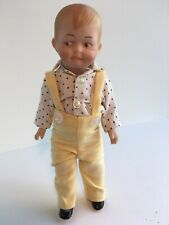 Jeannie Di Mauro Porcelain Dolls Boy Overalls Jack 0075/2500 Limited Edition