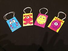 12X MONSTER LOLLY/TREAT BAGS