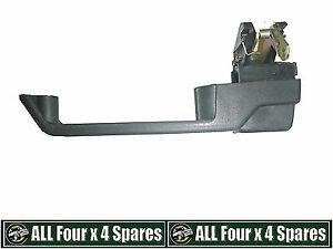 LH Rear Outer Door Handle Black Land Rover 110 130  Defender 1987 Onwards