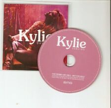 KYLIE - DANCING - MEGA RARE 1 TRACK  UK CD PROMO - NEW CONDITION