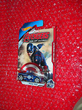 Hot Wheels Marvel Avengers Age of Ultron Power Rage CAPTAIN AMERICA  CGB83-0910