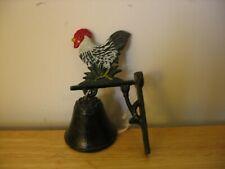Metal Rooster Bell