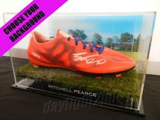 ✺Signed✺ MITCHELL PEARCE Boot PROOF COA Newcastle Knights Roosters 2018 Jersey