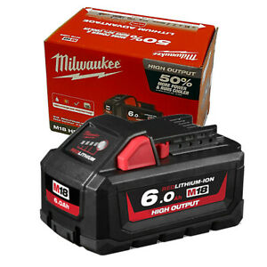 Milwaukee M18HB6 18V M18 Red Lithium Battery 6 Ah High Output - Genuine AU Stock