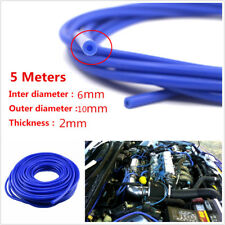 5Meter Auto Car Air Water Coolant Oil Turbo 6mm Silicone Hose Tubing Vacuum Hose