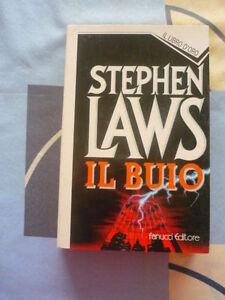 Il Buio Stephen Laws Libro D'ORO 84