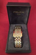 Accurate Libretto Swiss Made Water Resistant Watch w/ Original Box & Paperwork.