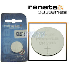 CR2016 Renata Watch Battery 3V Lithium Battery Official Distributor
