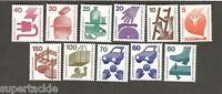 1971-1973 Berlin SC #9N316-325 ACCIDENT PREVENTION MNH stamps