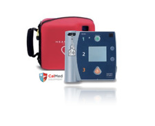 Philips HeartStart FR2+ AED Defibrillator 2 YR WRNTY-New 2022 Pads & OEM Battery