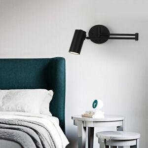 Loft Industrial Adjustable Swing Arm Long Bar LED Reading Wall Lights Fixtures