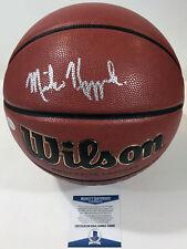COACH K!!! Mike Kryzewski DUKE BLUE DEVILS Signed NCAA Basketball #1 BAS Beckett