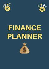 More details for home finance planner, home bill organiser, monthly budget planner, money planner