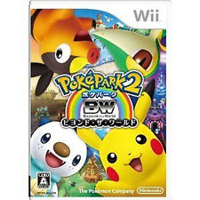 PokePark 2 Beyond the World POKEMON Nintendo Wii Import Japan
