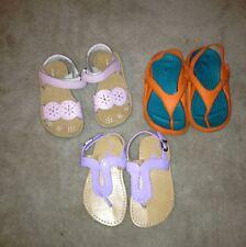 Girls Toddler Sz. 7 Crocs Circo Jumpers Summer Sandals Shoes