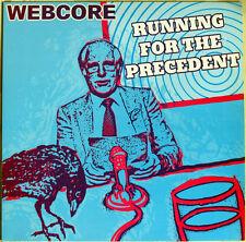 "WEBCORE 'Running For The Precedent' 12"" psychedelic progressive rock unplayed"
