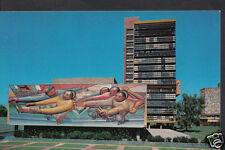 Mexico Postcard - Mural By Alfaro Siqueiros, Rectory Building  J2