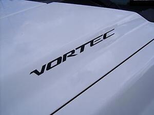 VORTEC (pair) Hood sticker decals emblem Chevrolet Silverado GMC Sierra