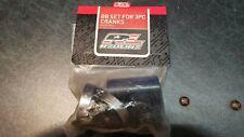 NOS Redline BMX 3 Piece Flight Cranks/401 Bottom Bracket Bearings/Spacers