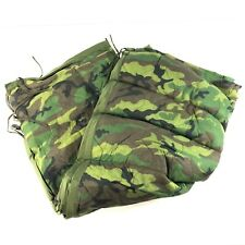All Weather Poncho Liner, BDU Woodland Camo Woobie US Military, Army Camping