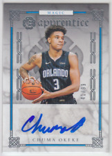 2019-20 Panini Chronicles Excalibur Chuma Okeke Apprentice Auto Rookie RC 41/99