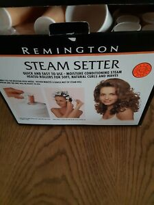 Remington Steam Setter Steam Heated Hair Rollers - 20 Rollers / Curlers & Clips