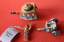 Games Workshop Warhammer Empire Imperial Steam Tank Metal Figure Set Painted OOP